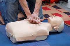 Perform CPR course
