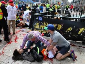 boston marathon first aid